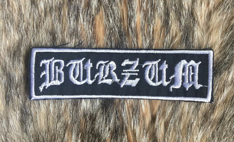 Burzum - Old Logo Patch