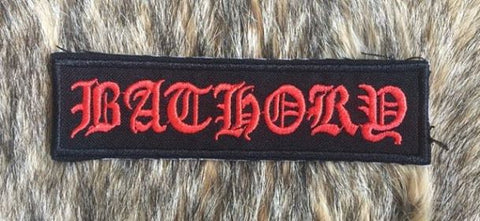 Bathory - Logo  Patch