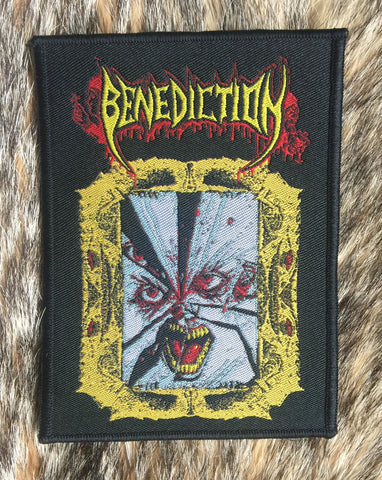 Benediction - Face Without Soul Patch  (Black Border)