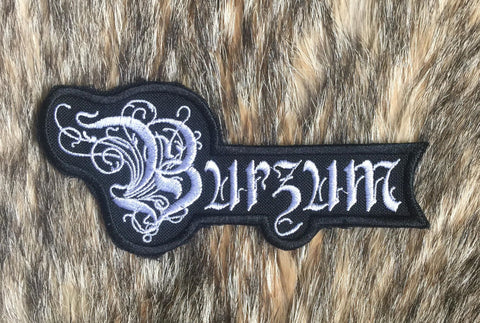 Burzum - Belus Logo Patch
