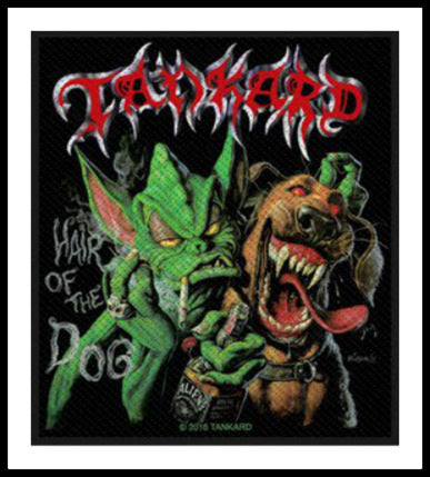 Tankard- Hair Of The Dog Patch - REDUCED PRICE!!