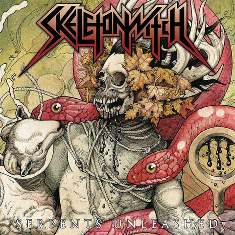 Skeletonwitch - Forever Abomination Yellow with Black & Oxblood Splatter Vinyl LP