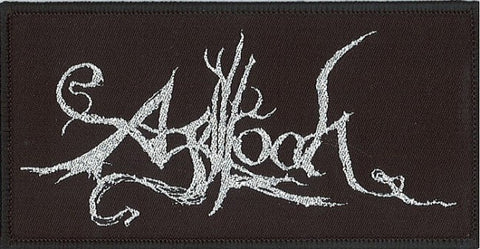 Agalloch - Silver Logo Patch