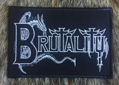 Brutality - Logo Patch