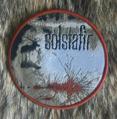 Solstafir - Berdreyminn Brown Border Limited Edition Circular Patch