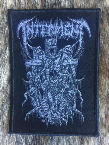 Interment - Crucifixion Black Limited Edition Patch