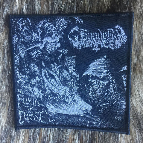 Hooded Menace - Fulfil the Curse Black Border Limited Edition Patch