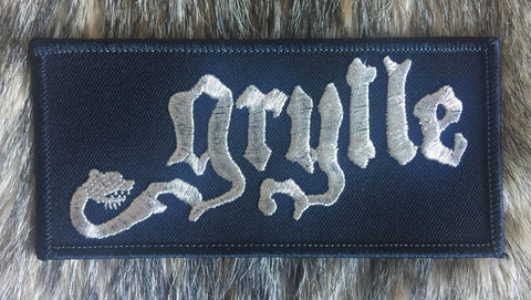 Grylle - White Logo Patch