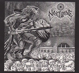 Nokturne - Werewolf Blood Order Black Vinyl LP - REDUCED PRICE DUE TO SHIPPING DAMAGE
