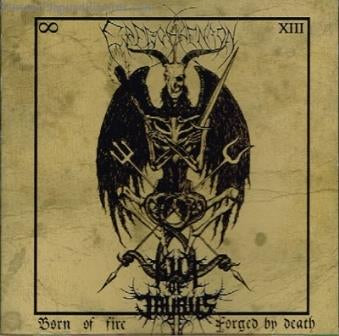 Kult of Taurus / Erevos Aenaon - Born of Fire, Forged by Death CD - REDUCED PRICE!!
