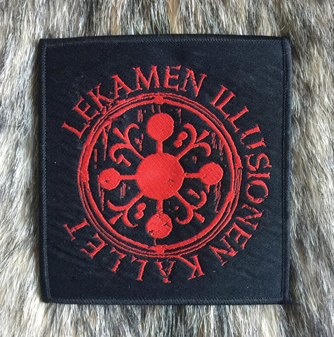 Lekamen Illusionen Kallet / L.I.K - RED Logo Patch - REDUCED PRICE!