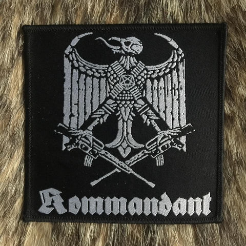 Kommandant- Logo Patch - LAST ONE!