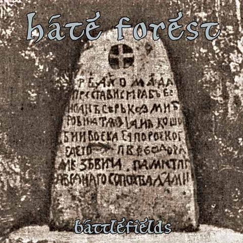 Hate Forest - Battlefields Slimline Digipak CD