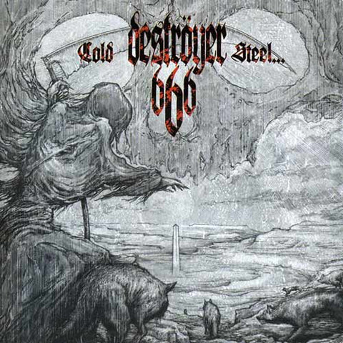 Destroyer 666 - Cold Steel… For An Iron Age CD