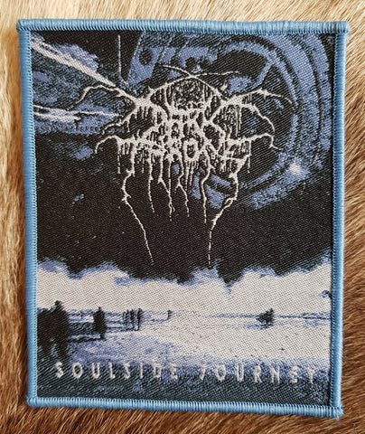 Darkthrone - Soulside Journey Blue Border Patch
