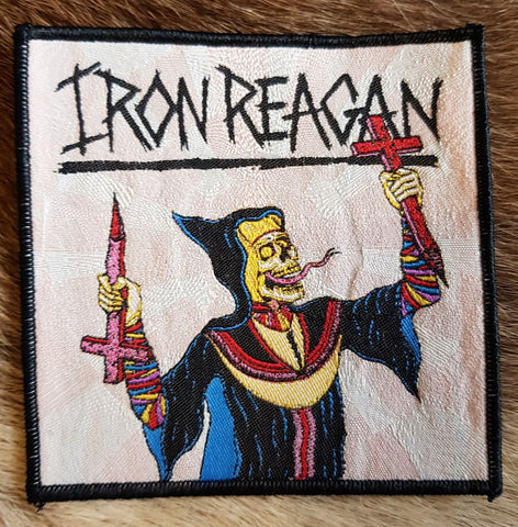 Iron Reagan - Crossover Ministry Black Border Limited Patch