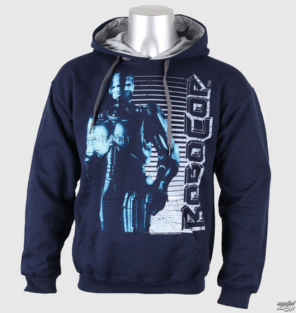 Robocop - Vintage Navy Blue Hooded Top
