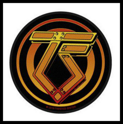 Twisted Sister- Circular Logo Patch - LAST ONE!