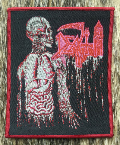Death - Human Red Border Limited Patch