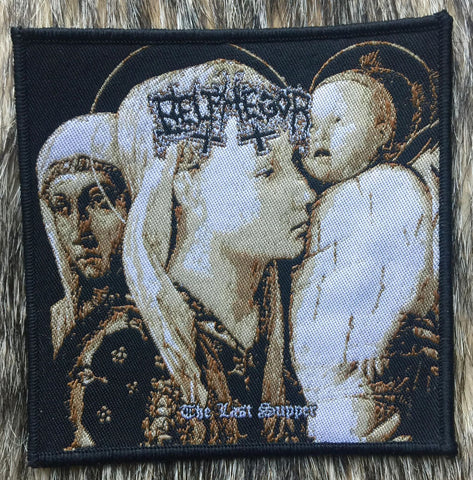 Belphegor - The Last Supper 2010 Black Border Patch