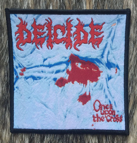 Deicide - Once Upon the Cross Black Border Patch