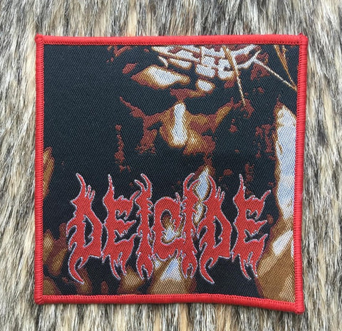 Deicide - Scars of the Crucifix Red Border Patch
