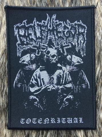 Belphegor - Totenritual Black Border Patch