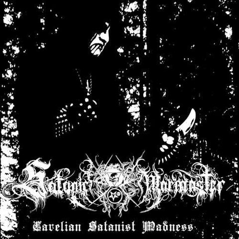 Satanic Warmaster - Carelian Satanist Madness CD