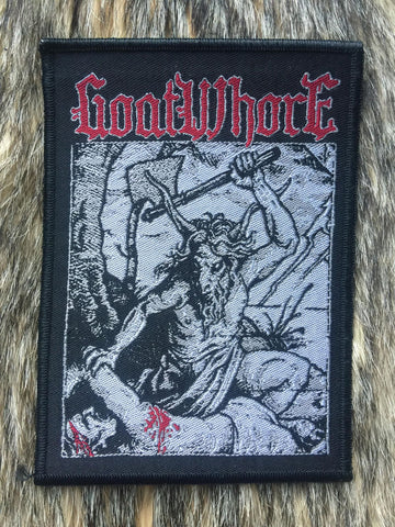 Goatwhore - Black Border Patch