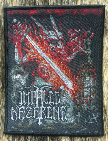 Impaled Nazarene - Vigorous and Liberating Death Black Border Patch