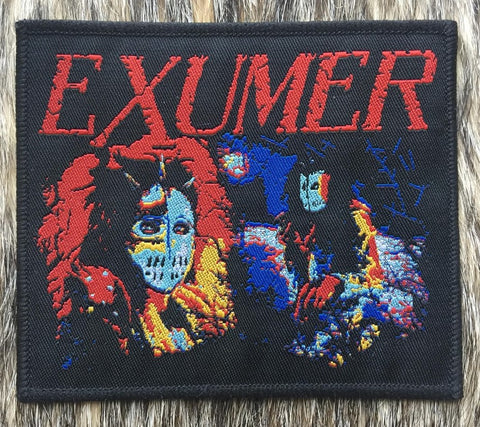 Exumer - Possessed By Fire Black Border Patch