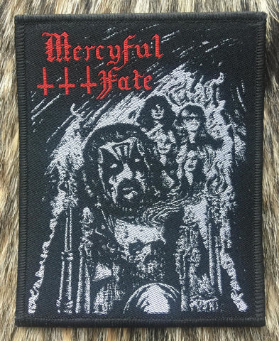 Mercyful Fate - King Black Border Patch
