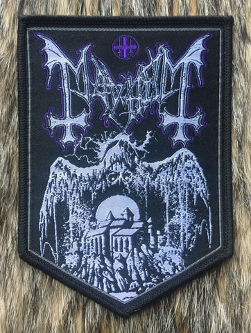 Mayhem - Shield Black Border Patch