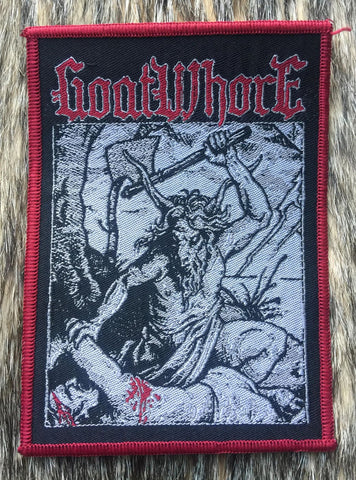 Goatwhore - Red Border Patch