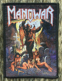 Manowar - Hell on Earth Black Border Patch