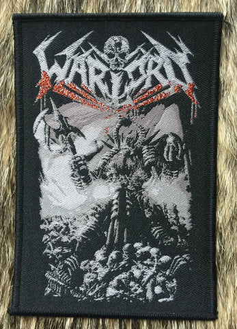 Warlord UK - Black Border Patch