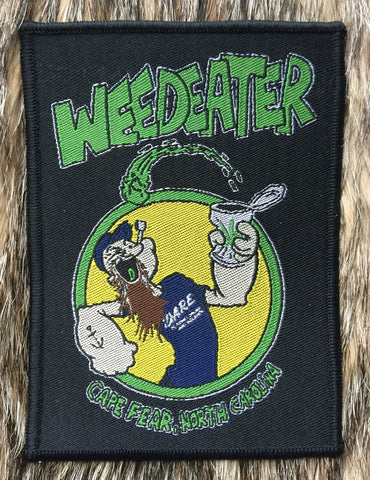 Weedeater - Cape Fear, North Carolina Black Border Patch