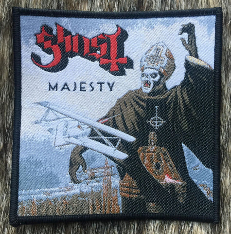 Ghost - Majesty Black Border Patch