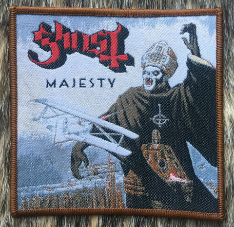 Ghost - Majesty Bronze Border Patch