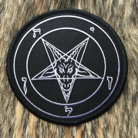 Pentagram Large Circular Patch