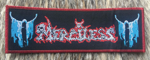 Merciless - Stripe Red Border Patch
