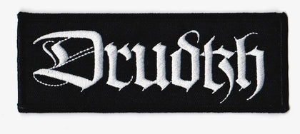 Drudkh - Metallic Silver Logo Patch