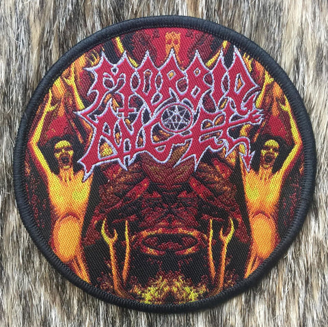 Morbid Angel - Lava Circular Patch