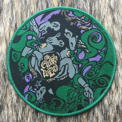 Electric Wizard - We Live Green Border Circular Patch