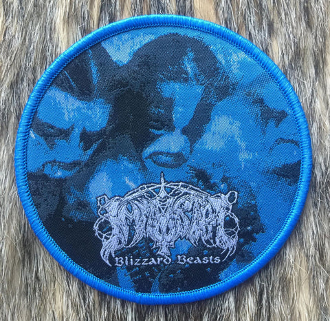 Immortal - Blizzard Beasts Blue Border Circular Patch