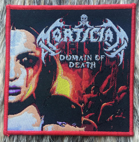 Mortician - Domain of Death Red Border Patch