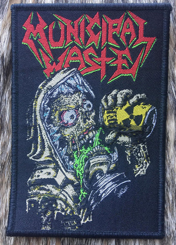Municipal Waste - The Last Rager Black Border Limited Edition Patch