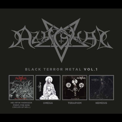 PRE ORDER -  Azaghal - Black Terror Metal Vol. 1 4 CD Box Set