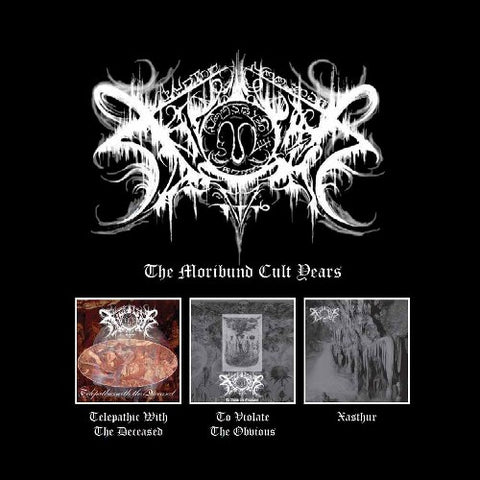Xasthur - The Moribund Cult Years 3 CD Box Set - SHIPPING NOW!!