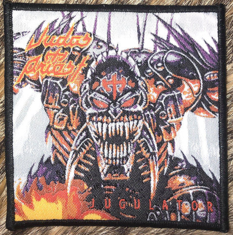 Judas Priest - Jugulator Black Border Patch